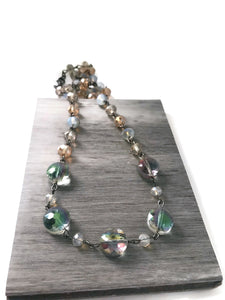 Color Changing Crystal Necklace