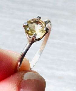 Citrine Ring Us Size 10