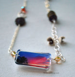 Custom Photo Resin Necklace Corporate gifts