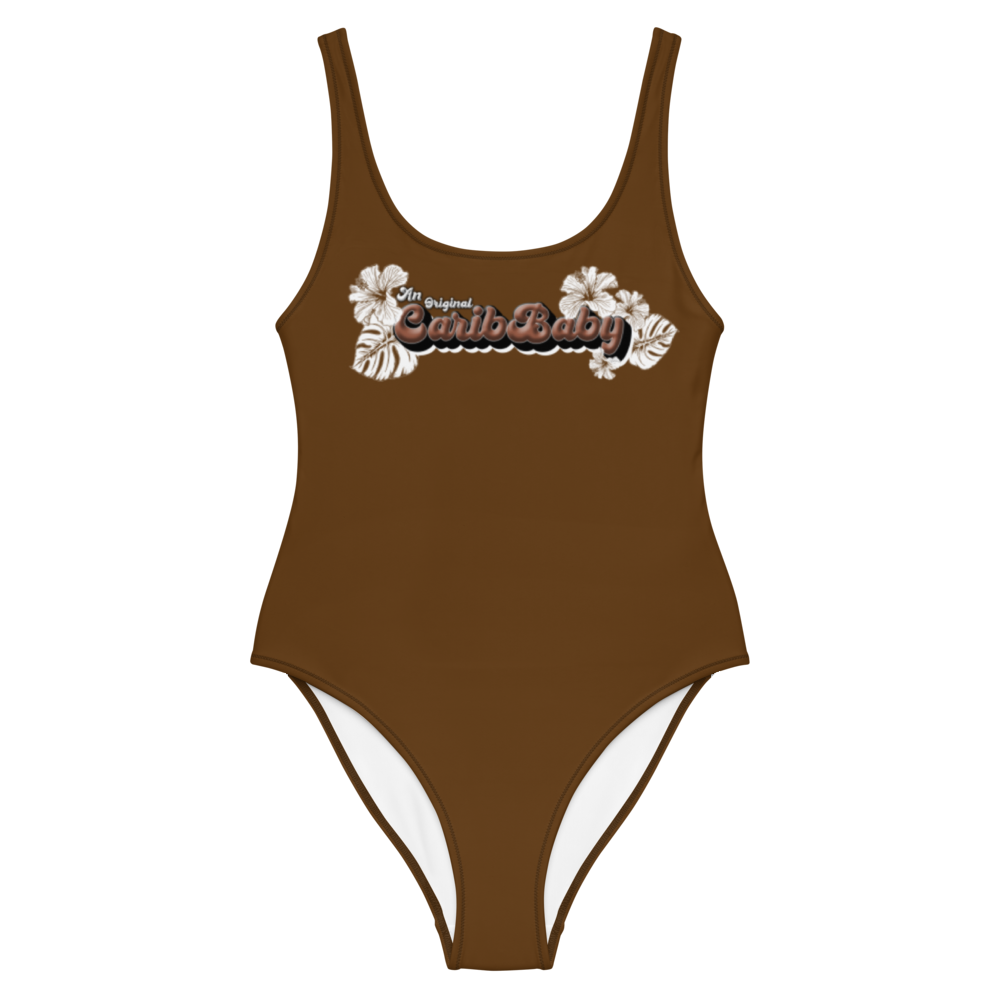 Brown CaribBaby Swimsuit