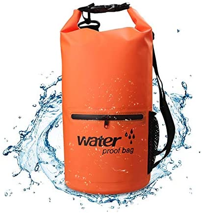 WATERPROOF BEACH BACKPACK LIKE A SEA BALL / MOCHILA IMPERMEABLE PARA PLAYA A PRUEBA DE AGUA MODELO BOLLA