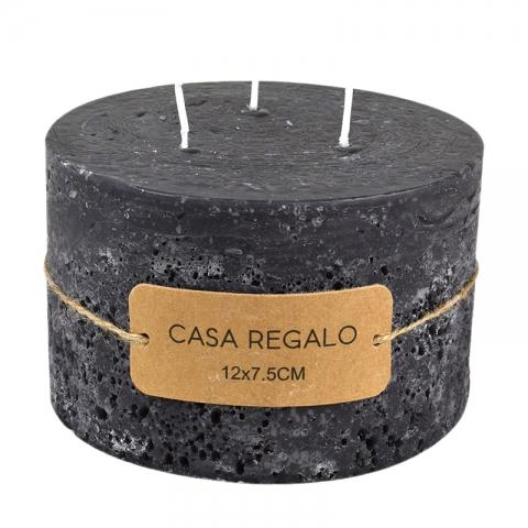 Three Wick Earth Pillar Candle