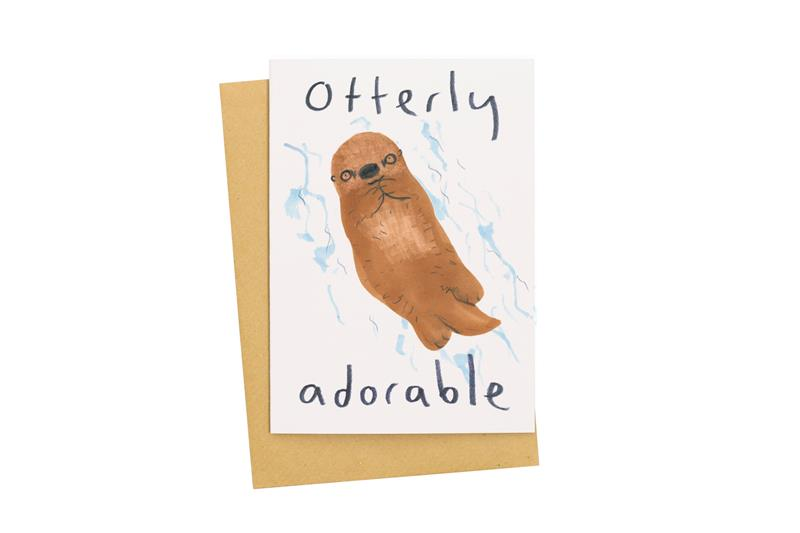 Otterly Adorable Card