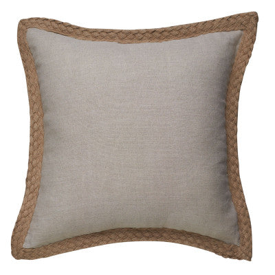 Sand Linen Luxury Display Cushion