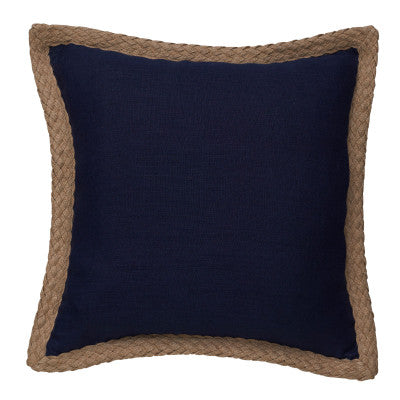 Navy Linen Luxury Display Cushion