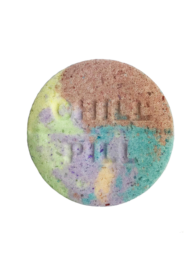 Rainbow Unicorn Chill Pill Bath Bomb