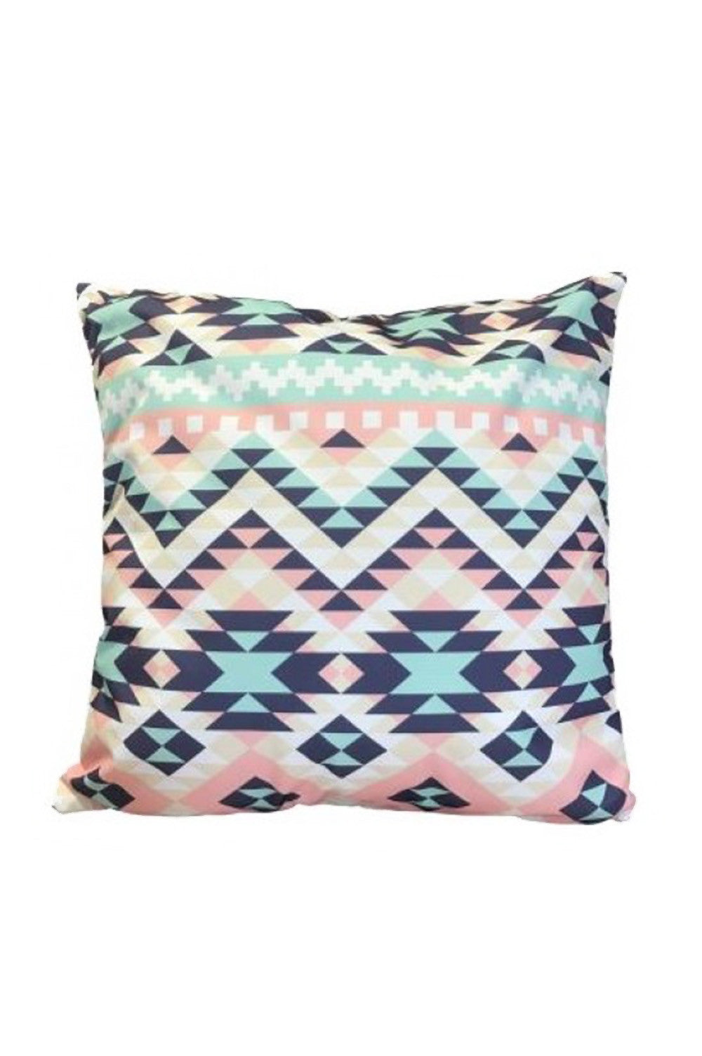 Retro Pastel Aztec Cushion