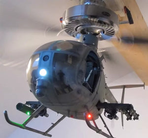 AH-6 Helicopter ceiling fan light set【Buy 2 Free shipping】