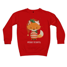 Load image into Gallery viewer, Fox Elf Kids Retail Sweatshirt
