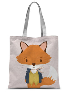 Mr Fox - Make Today Fantastic  Sublimation Tote Bag