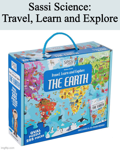 Sassi Puzzles: Travel, Learn and Explore sets
