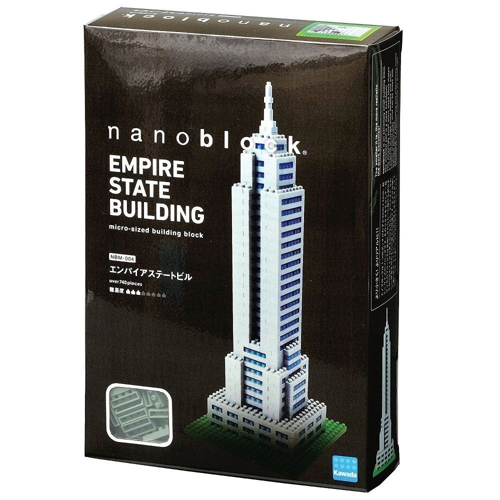 Empire State Building Nanoblock NBM004 - STEAM Kids Brisbane
