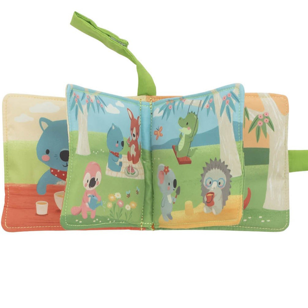 Tiger Tribe Australian themed Gumtree Buddies Pram Book - STEAM Kids Brisbane
