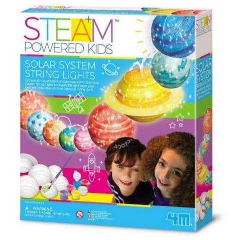 4M STEAM Powered Kids Solar System String Lights - STEAM Kids Brisbane