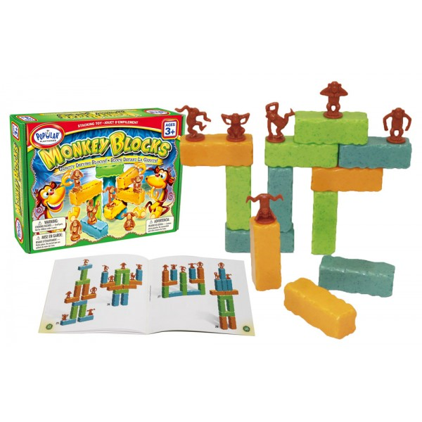 Monkey Blocks - Weighted Balance Game - STEAM Kids Brisbane