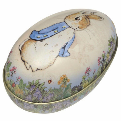 Peter Rabbit Egg Shaped Tin - STEAM Kids Brisbane