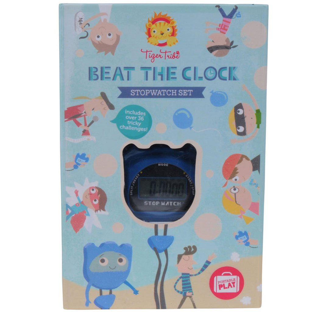 Tiger Tribe| Beat the Clock Stopwatch Set - STEAM Kids Brisbane