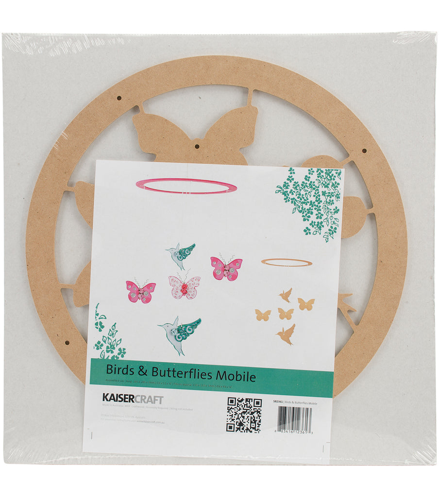 Kaisercraft Birds & Butterflies Mobile Kit - STEAM Kids Brisbane