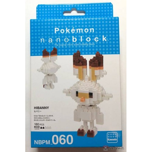 Nanoblock Pokemon Scorbunny - STEAM Kids Brisbane
