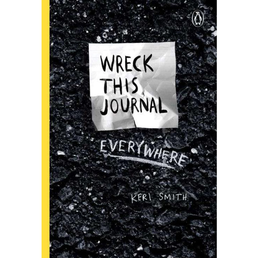 Wreck This Journal Everywhere - STEAM Kids Brisbane
