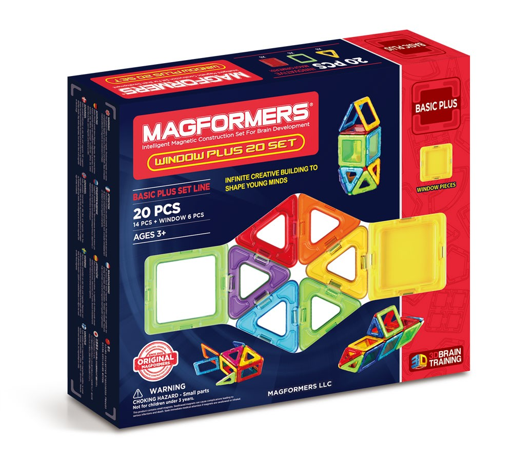 Magformers Windows Plus 20 - STEAM Kids Brisbane