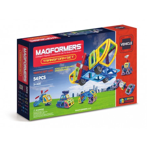 Magformers Transform Set 54 piece - STEAM Kids Brisbane