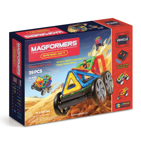 Magformers R/C Racing Set - Flying Fox Shop Brisbane