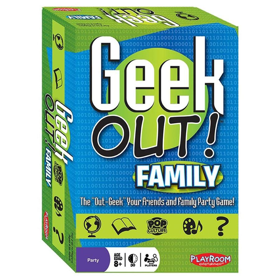 Geek Out Family Board Game - STEAM Kids