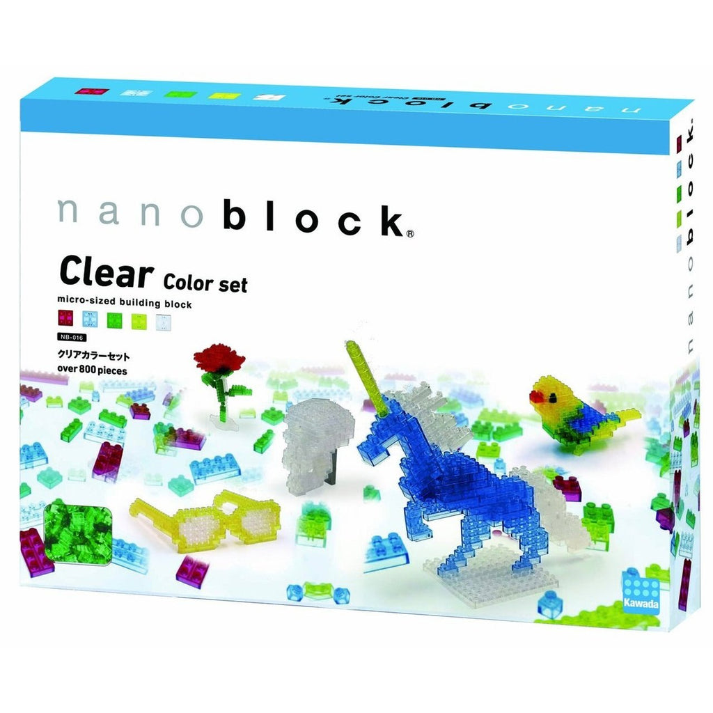 Nanoblock Clear Color Set NB-016 - STEAM Kids Brisbane