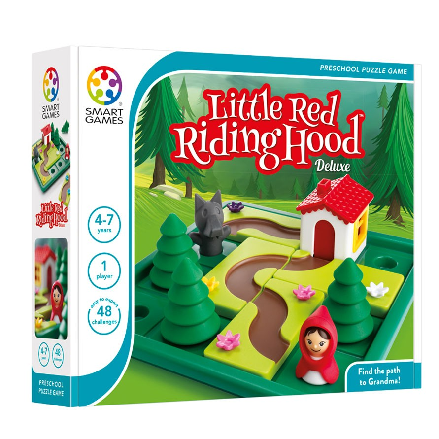 Smart Games Little Red Riding Hood Deluxe - STEAM Kids Brisbane