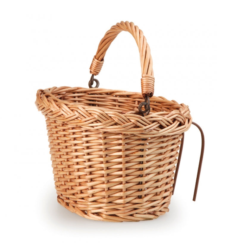 Egmont Wicker Bicycle Basket - STEAM Kids Brisbane
