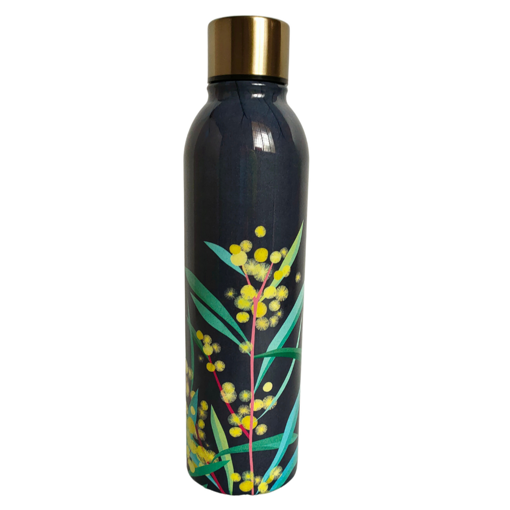 Native Grace 500ml Water Bottle by Ashdene. | Stainless Steel Hot and Cold | - STEAM Kids