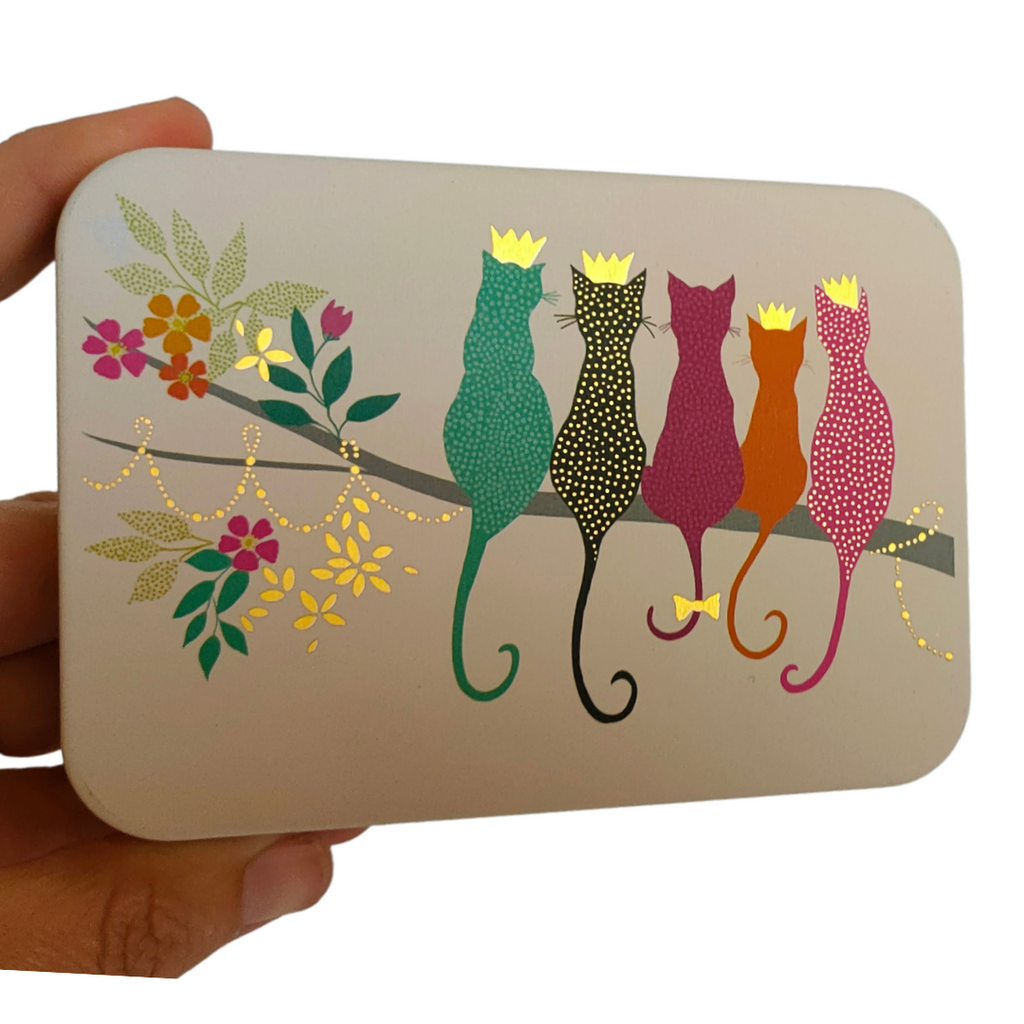 Sara Miller Cats Pocket Tin - STEAM Kids