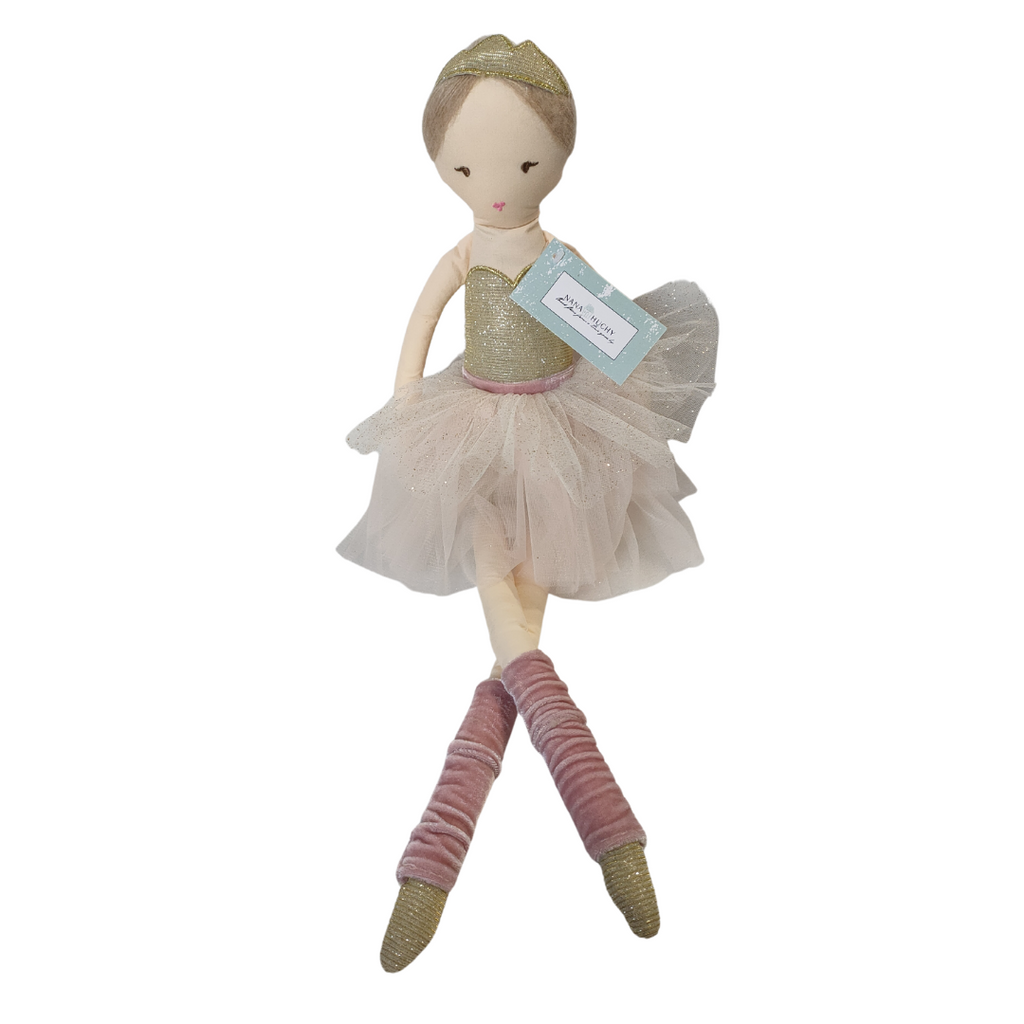 Betty Ballerina 57cm Rag Doll-pink - Nana Huchy - STEAM Kids