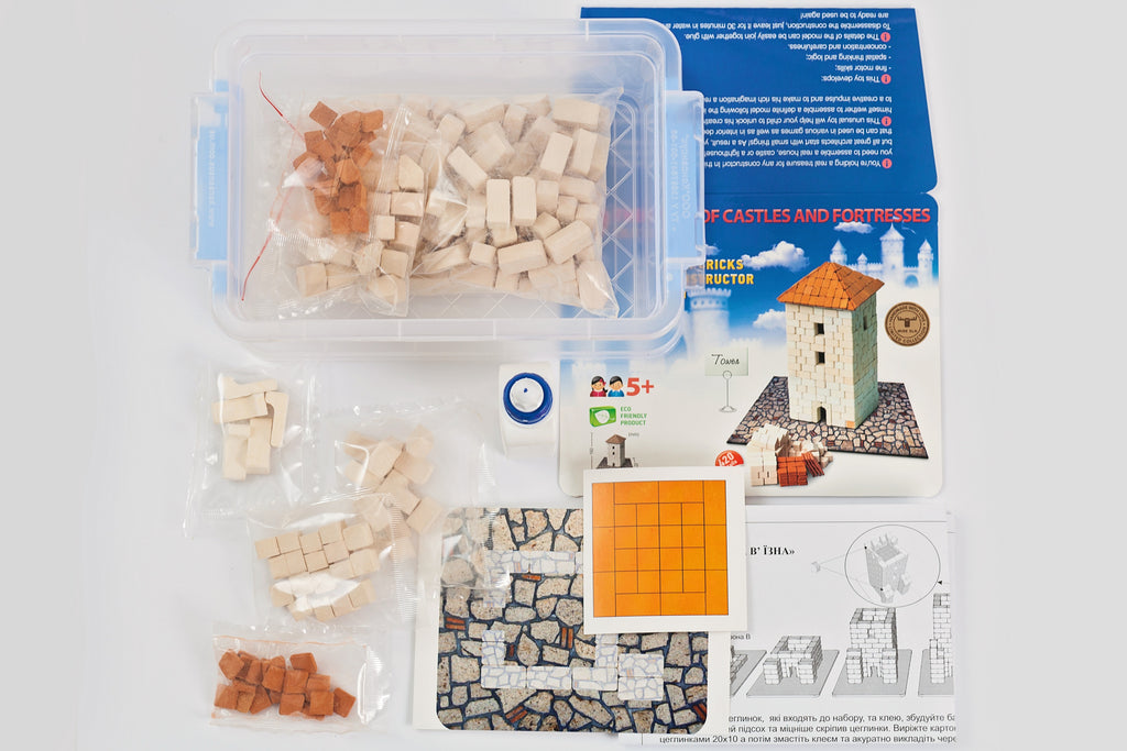 Wise Elk Mini Bricks Bank - STEAM Kids
