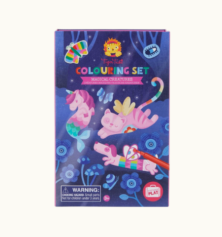 Tiger Tribe Colouring Set -  Magical Creatures - STEAM Kids Brisbane