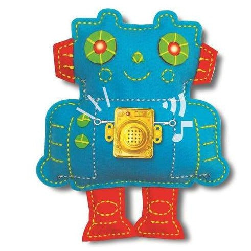 4M STEAM Powered Kids Stitch-a-Circuit Robot Kit - STEAM Kids Brisbane