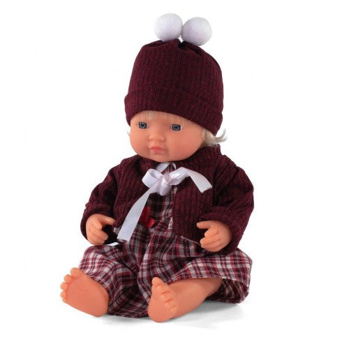 Miniland Anatomically Correct doll 38cm, Caucasian Girl with Outfit in Box - STEAM Kids Brisbane