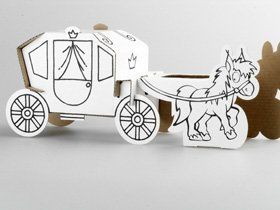 Calafant Activity Model Horse and Carriage - STEAM Kids Brisbane