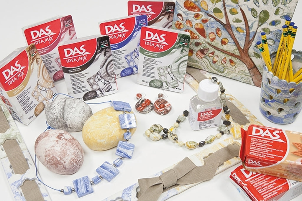 DAS Ideas Mix Clay Verona Red - STEAM Kids