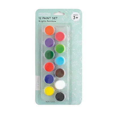 KaiserKids - Poster Paint 12x4 ml set - Brights - STEAM Kids Brisbane