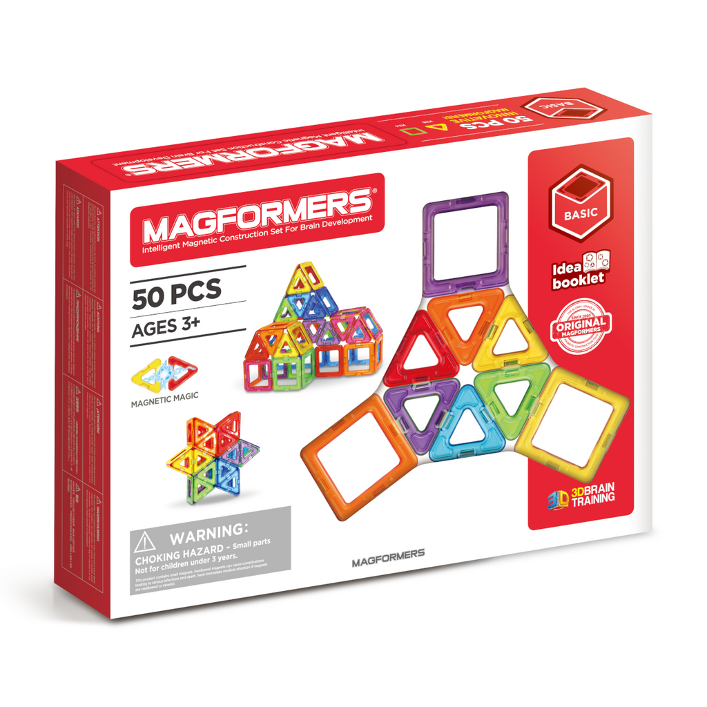 Magformers 50 Piece Set - STEAM Kids Brisbane