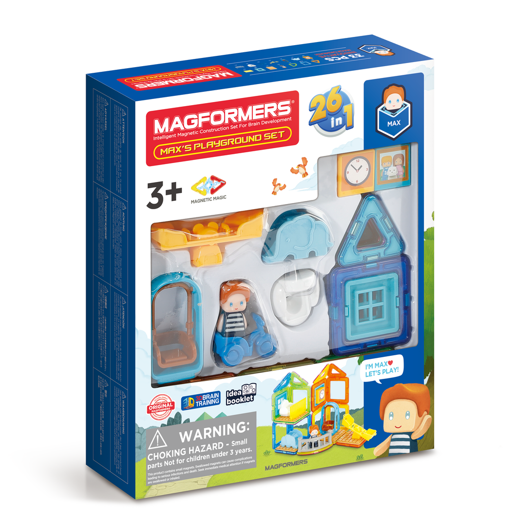 Magformers Max's Playground Set 33 piece - STEAM Kids Brisbane