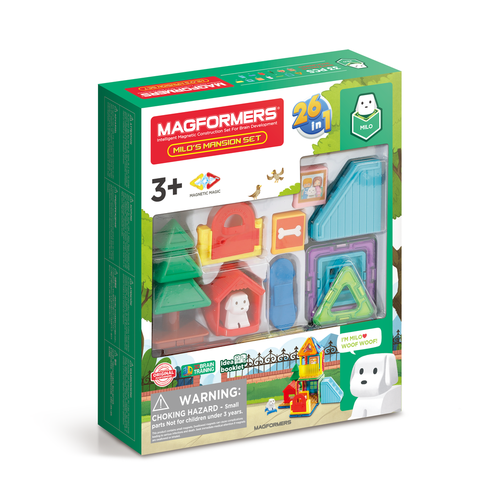 Magformers Milo's Mansion 33 piece - STEAM Kids Brisbane