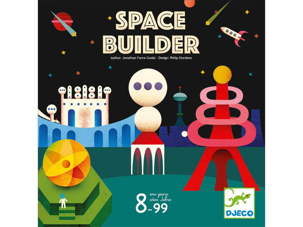 Djeco Space Builder Game - STEAM Kids Brisbane