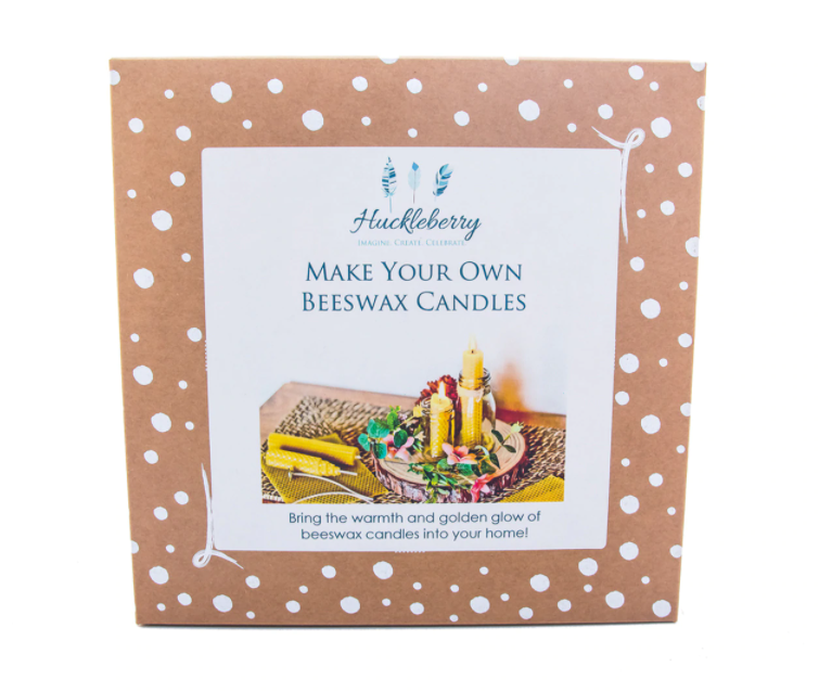 Make Your Own Beeswax Candles by Huckleberry - STEAM Kids Brisbane