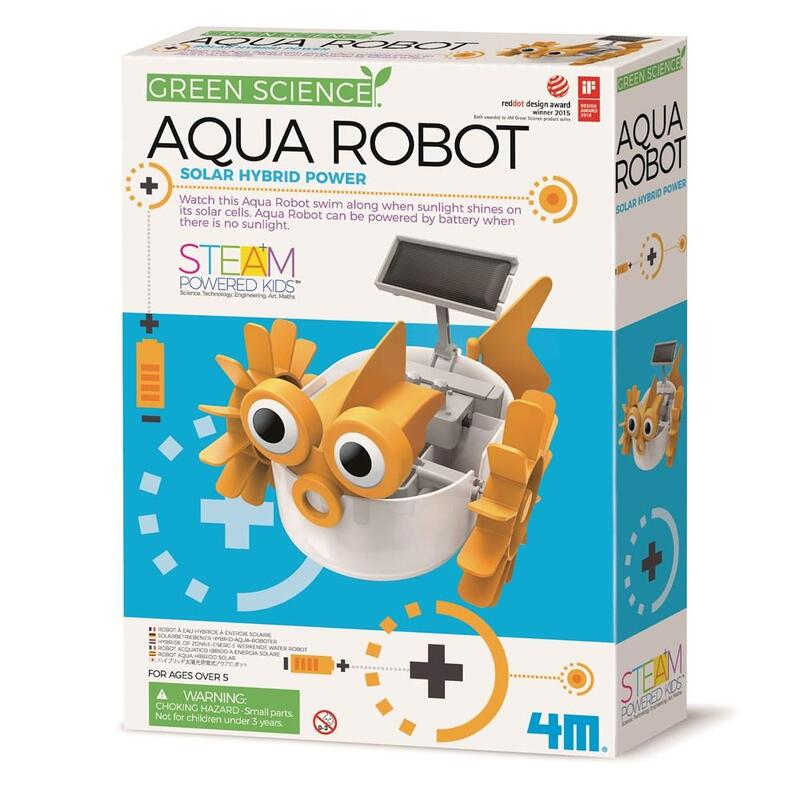 Green Science - Aqua Robot by 4M - STEAM Kids