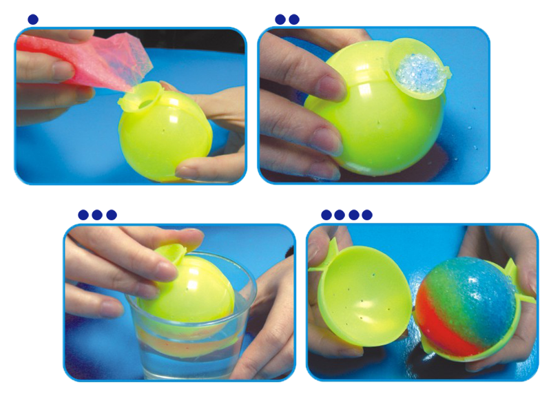 DIY High Bounce Ball Kit - STEAM Kids Brisbane