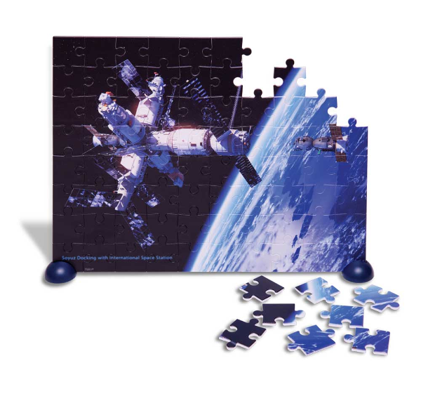Heebie Jeebies Space Station Puzzle | 80pc - STEAM Kids Brisbane