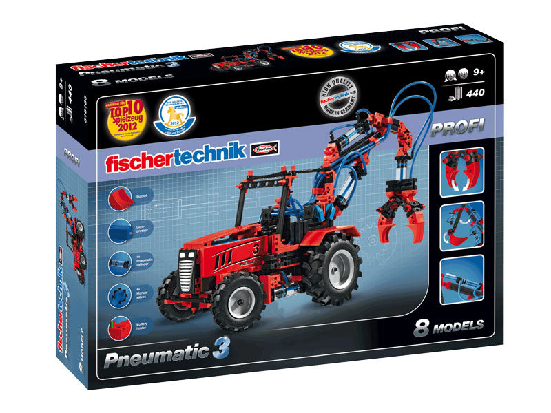 Fischertechnik Pneumatic 3 - STEAM Kids Brisbane